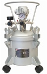Pressure Pot 2.5 Gallon Dual Regulated Air Agitated